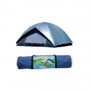 Barraca de Camping Luna C/ Sobreteto Forro 4 Pessoas Mor