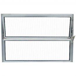 Basculante Aluminio 40X60 2Folhas Habitec