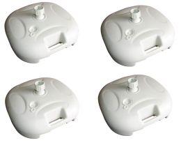 Base Plastica de Guarda Sol Ombrelone Mor com 4 un