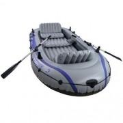 Bote Inflavel Excursion 5 Set - 5 Pessoas + Sup Motor 455kg - Intex