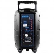 Caixa De Som Amplificadora Trolley Bluetooth Multilaser