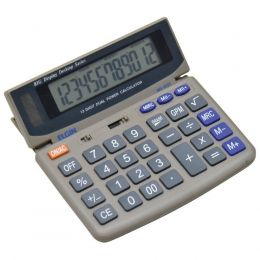 Calculadora Eletronica De Mesa Display Inclinavel Elgin