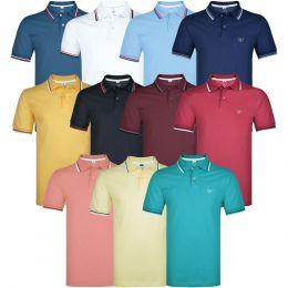 Camisa Polo Malha Premium Lisa 04 Gg S/Bolso Vilejack Pt/2