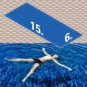 Capa Piscina 6x15 m (15x6) Dreno 42 Pinos 300 Micra CapaKit