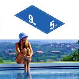 Capa Piscina 5x9 m (9x5) Dreno 28 Pinos 300 Micra CapaKit
