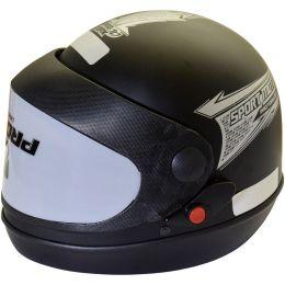 Capacete  Moto 56 Preto Fosco Inmetro Sm56pft Pro Tork