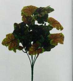 Enfeite Bouquet Folha Uva Outono 30cm c/ 5 Galhos Magizi