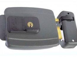 Fechadura Elétrica AGL MIni 12V Chave convencional