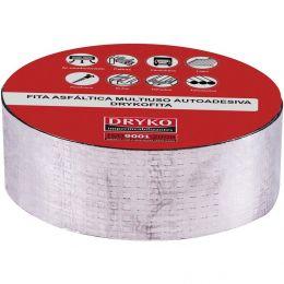 Fita Impermeabilizante Aluminio 05Cmx10M Drykofita