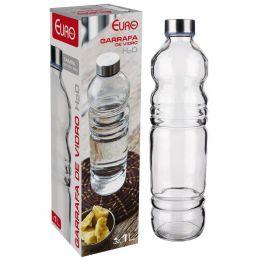 Garrafa Vidro 1L H2O Euro