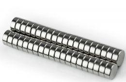 Imãs de Neodímio 8x3mm c/ 20 Unidades