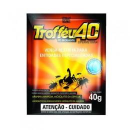 Inseticida trofeu 40pm biocarb 40g