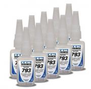 Kit 10 Cola Adesiva Instantânea Multiuso 20g 793 - TekBond