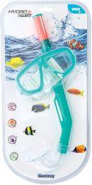kit mergulho máscara + snorkel bestway + 3 a 12 anos