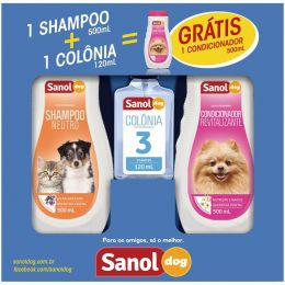 Kit Promocional Sanol Dog