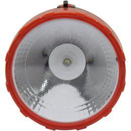 Lanterna Recarregavel 01Led+6 Auxiliares 3W Bivolt Blister