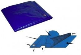 Lona Leve Para  Cobertura 4X4 m  Com Ilhos De Aluminio Gen