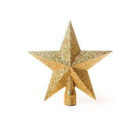 Ponteira Para Arvore de Natal Estrela 13cm un