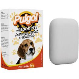 Sabonete Pulgol 80G Vetbras