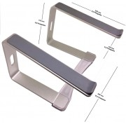 Suporte Elevado Aluminio Curv Higher + Alto 175mm s17 *Ld