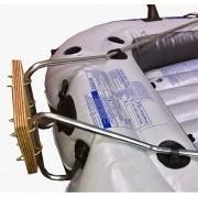 Suporte Motor p/ Bote Inflável Intex c/ Alongador  Popax