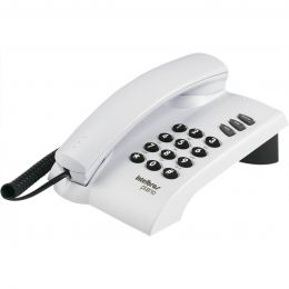Telefone Com Fio Intelbras Pleno Cinza Artico