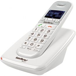 Telefone S/Fio Digital Intelbras Branco