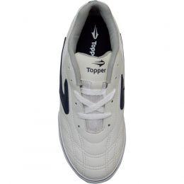 Tenis Futsal Dominator 40 Branco Topper