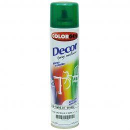 Tinta Spray Colorgin Decor Verde Amazonico 360Ml #A Cx/6
