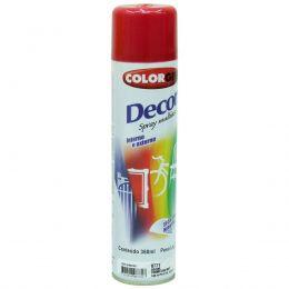 Tinta Spray Colorgin Decor Vermelho Metalico 360Ml #A Cx/6