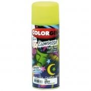 Tinta Spray Colorgin Luminosa Amarelo 350Ml #A