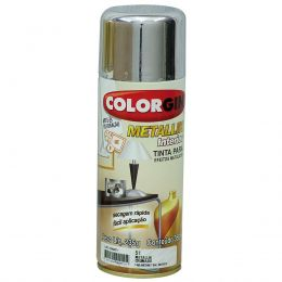 Tinta Spray Colorgin Metalico Cromado 350Ml #A