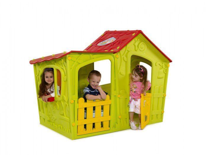 Casinha de Brinquedo Playground Magic Villa Verde - Keter