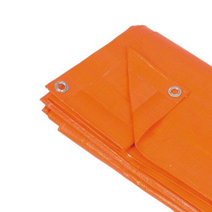 Lona Forro Cobertura Azul 4x4m c ilhos - 140gm - 180 micras - 053601 - Strong ***