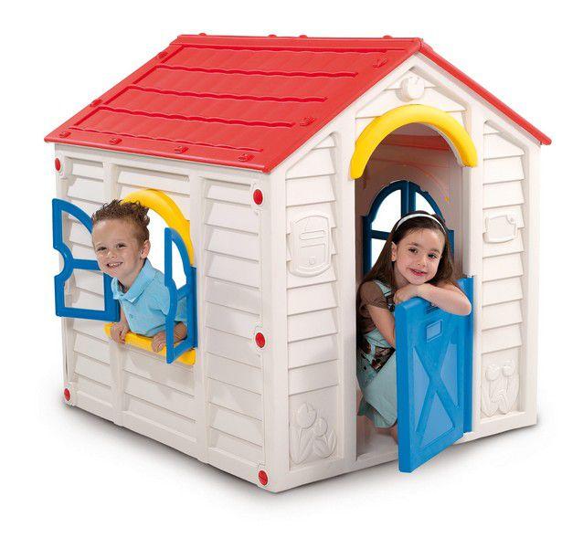 Casinha de Brinquedo PlayHouse Rancho Branca - Keter