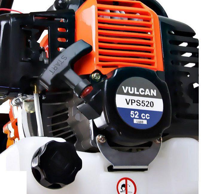 Perfurador De Solo Gasolina 52cc + Broca 80x20cm Vps520 Vulcan