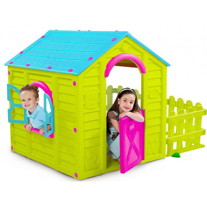 Casinha de Brinquedo Playground Garden Verde - Keter