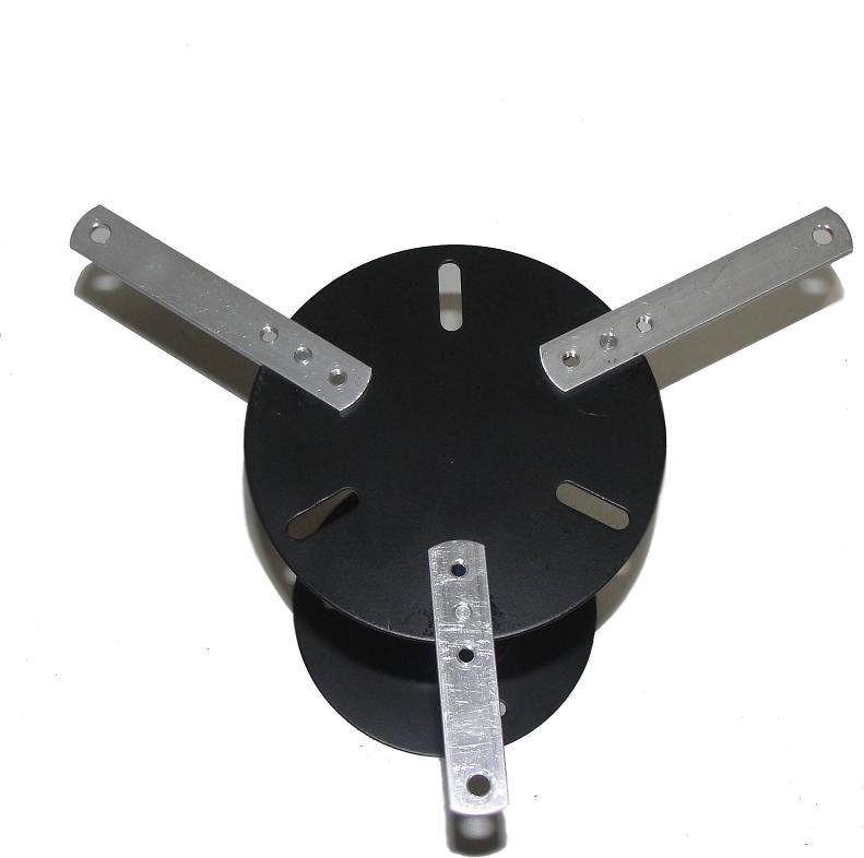 Suporte de Teto Para Projetor Universal 28cm Preto - Visograf