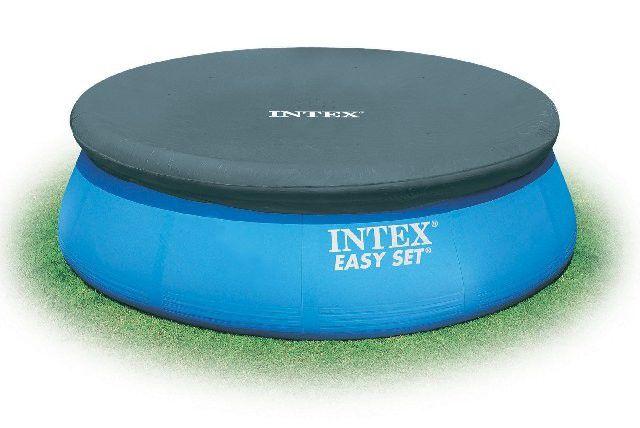 Capa Original Intex 244cm Ø Azul Touca  - 28020 Intex
