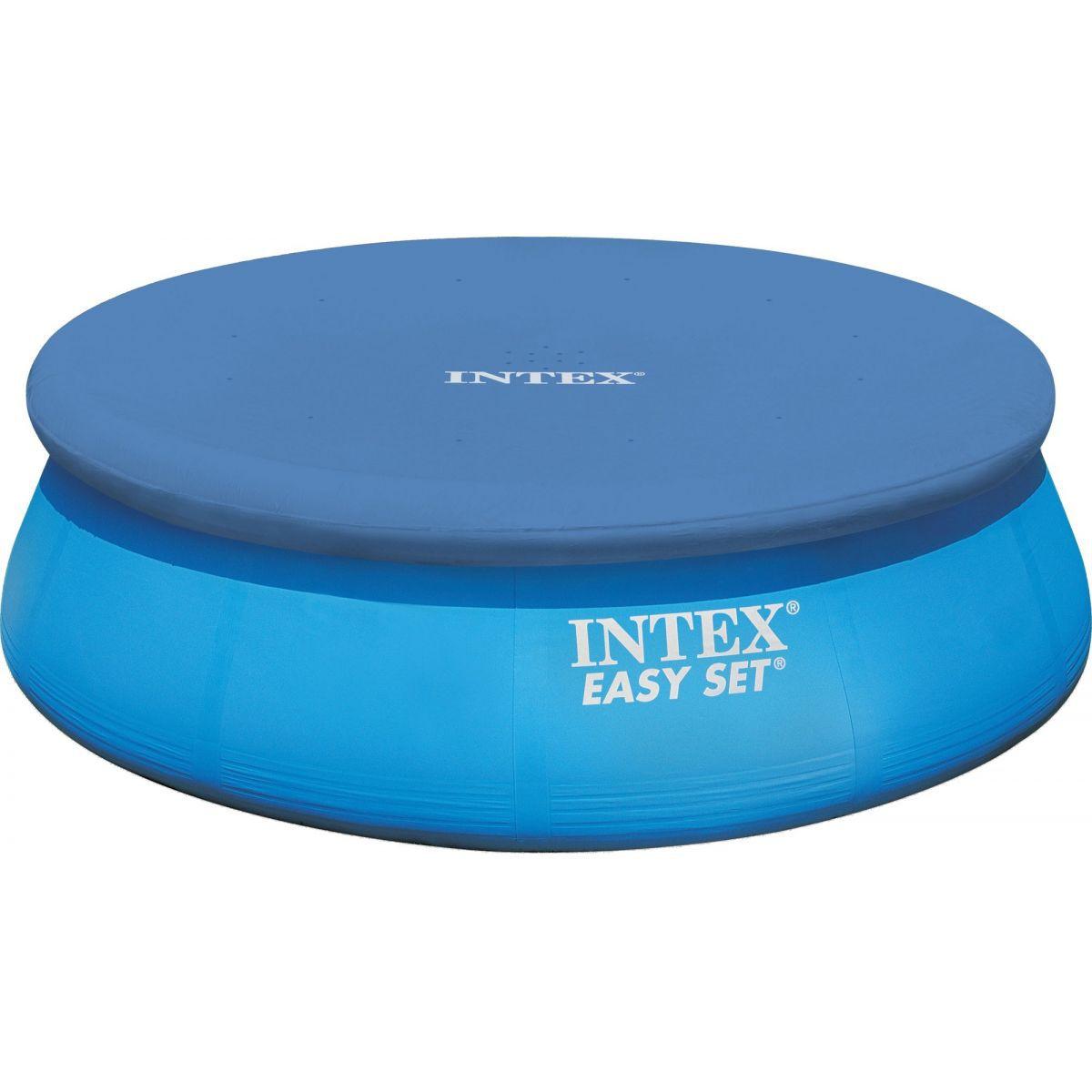 Capa Original Intex 366cm Ø Lonavinil Azul Touca 58919 28022