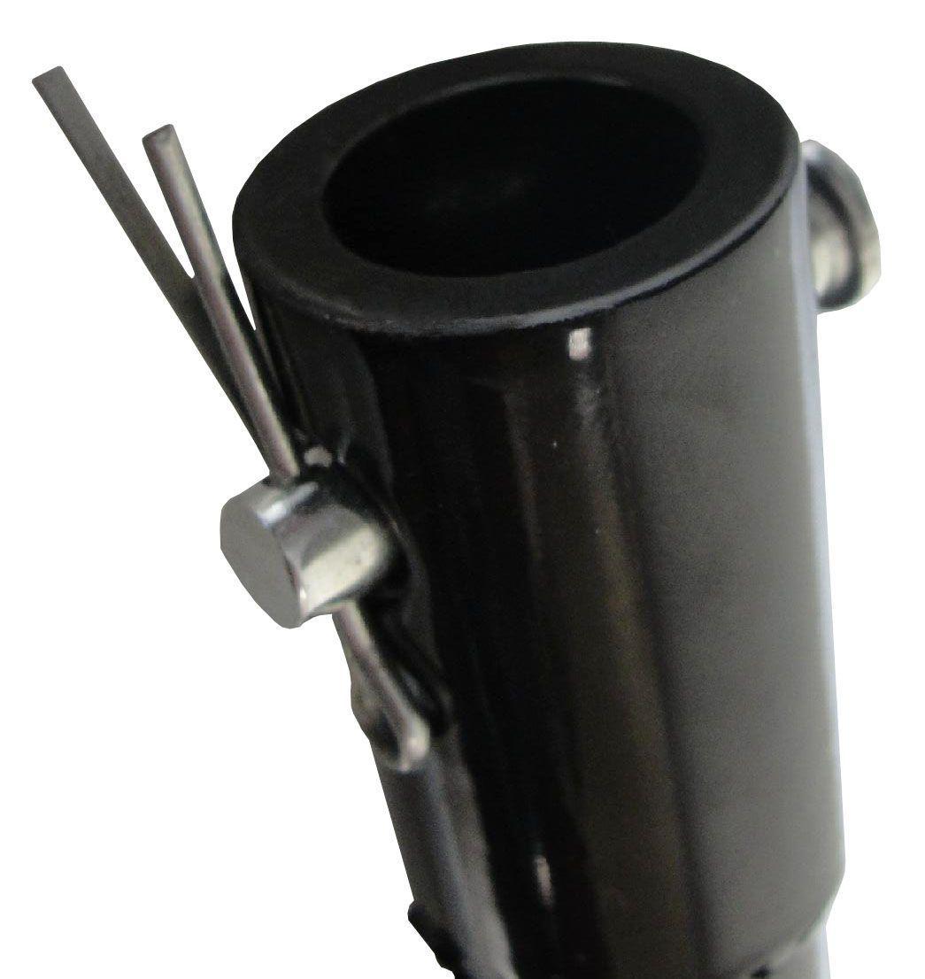 Broca para Perfurador Solo 100mm x 80cm com Ponta Aço Duro Substituível - ed430 Kawashima