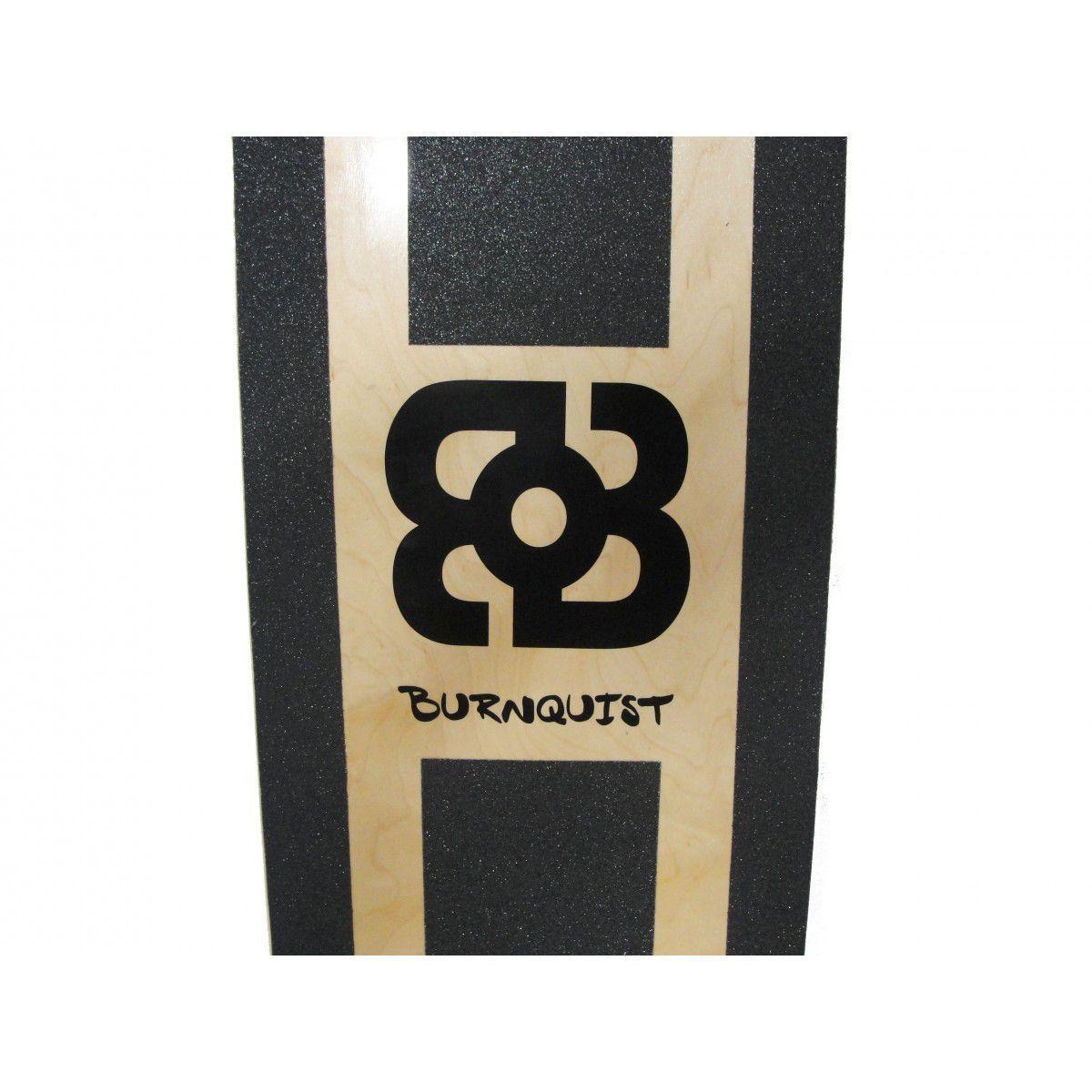 Longboard Profissional Freestyle 4 ou Street  + Kit Proteçao Brinde  Bob Burnquist Skate  - es016 Multilaser