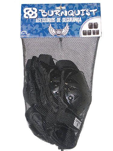 Kit Segurança Proteção Skate Bob Burnquist - es002 Multilaser