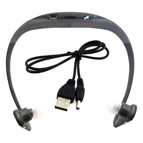 Fone de Ouvido Radio e Mp3 Sportphone entrada Micro SD card - ph096 Multilaser *