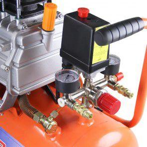 Compressor de Ar 25 Litros 2,5HPs 127V Duas Saidas VC25 Vulcan