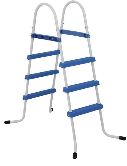 Escada para Piscina Intex, Mor, Bestway 3 degraus 91cm - M Mor