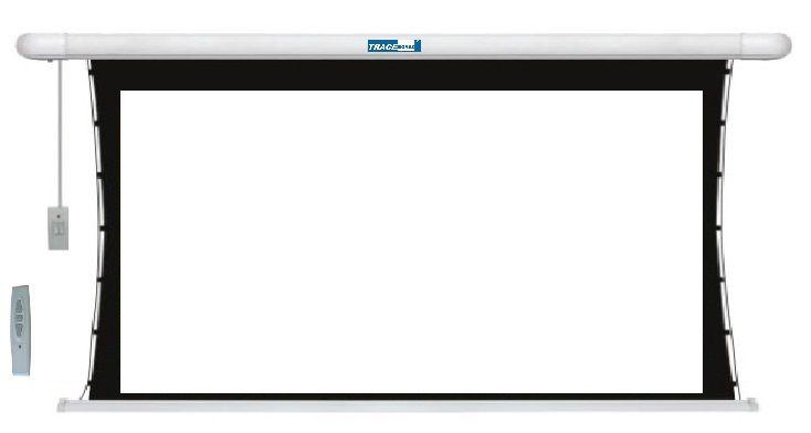 Tela Elétrica 16:9 c/ CR 203x114cm Tensionada tbts92h - Trace Board