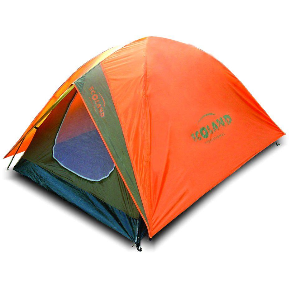 Barraca de Camping Karajá 3 Pessoas 180x210x130cm Laranja - Ecoland