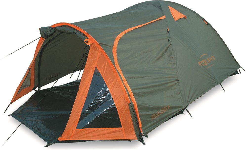 Barraca Camping Guajajaras Professional com Forro e Varanda 3 P 180x210x130cm Laranja - Ecoland