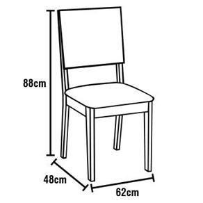 Cadeira Milan Conjunto 2 Unidades Cor Chocolate - ktr000402 Keter